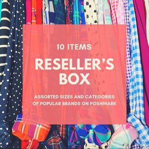 RESELLER'S BOX - 10 ITEMS
